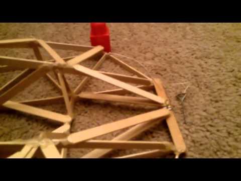 Catapult ( popsicle sticks )