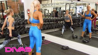 Renee Young talks to Maryse about her conflict with The Bella Twins: Total Divas Bonus Clip, Nov...