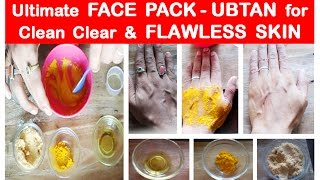 All Skin Face Pack How To Get Clear Glowing Spotless Skin By Using Ho