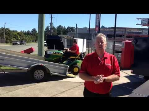 Mower Trailers Custom Made to Suit Your Needs