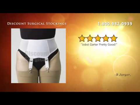 Jobst Standard Slip On Garter Belt W/Adjustable Garters - 30