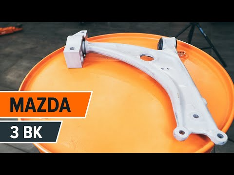 How to replacefront lower arm onMAZDA 3 BKTUTORIAL | AUTODOC