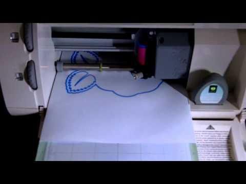 Raspberry Pi Controlled Cricut to cut SVG files
