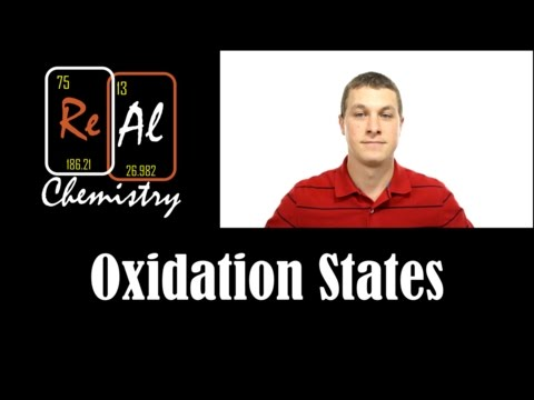 Determining oxidation state - Real Chemistry