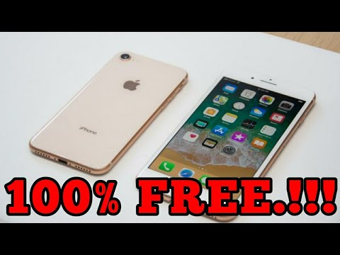 how to get a free iPhone 8