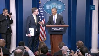 Final Obama White House Press Briefing- Full Event