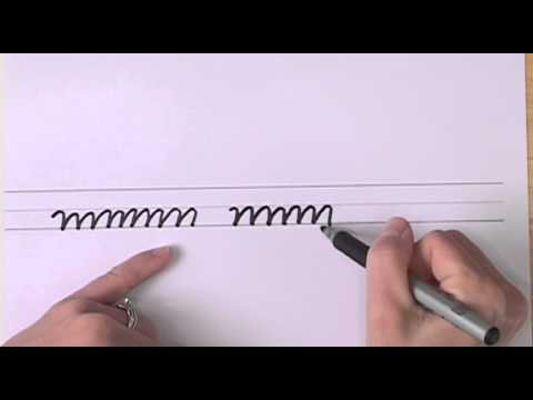 How To Write in Cursive // Lesson 7 // A complete Course // FREE Worksheets