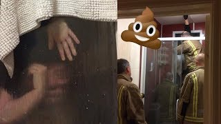 TINDER DATE FAIL: Woman Stuck In Window With Her Own Poop | What