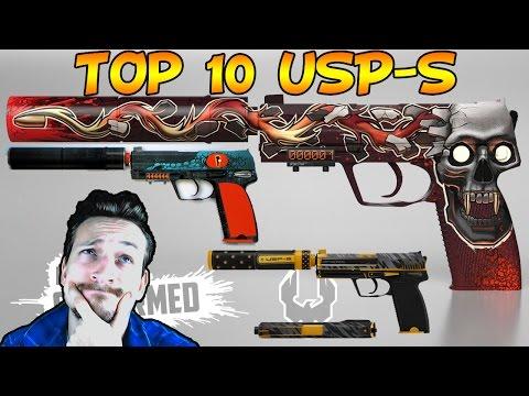 TOP 10 CS:GO SKINS | USP-S |  (Deutsch/German)