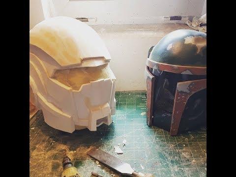 DIY/ mass effect N7 helmet