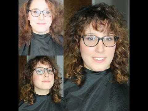 Curly Shag Haircut Makeover