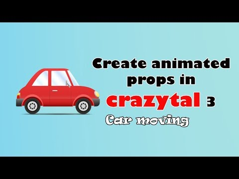 Create animated props in crazytalk  Animation 3