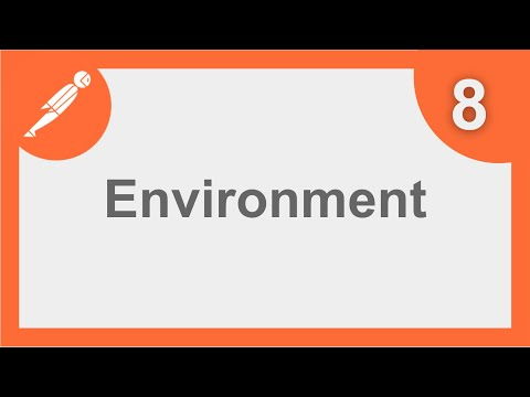 POSTMAN BEGINNER TUTORIAL 8 💡 How to create ENVIRONMENTS