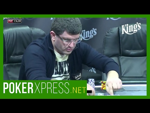 That's how Leon Tsoukernik livens up the poker table!
