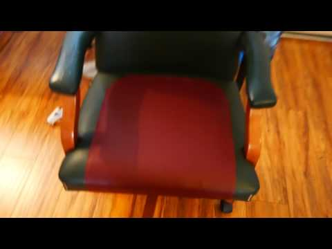 How to fix and patch tears and cracks in leather (pleather) chair