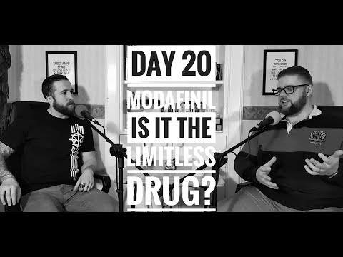 Day 20: Modafinil; The Limitless Drug?