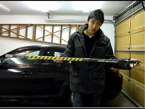 How to matte your hockey stick