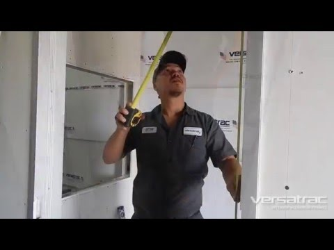 Aluminum Door Frame Installation Video