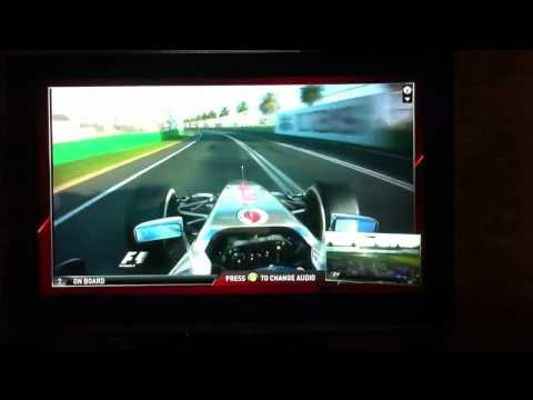 New Sky Sports F1 HD channel