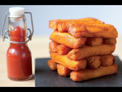Sweet Potato Triple Cooked Chips