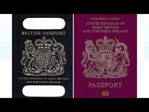 Post-Brexit blue British passports 'to be made in France' | ITV News