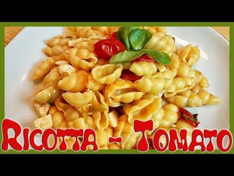 How to Make Tomato Ricotta One-Pot Pasta | Tomato Ricotta Pasta Recipe