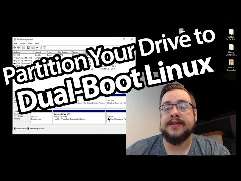 How to Partition/Prepare your Hard Drive to Dual-Boot Linux