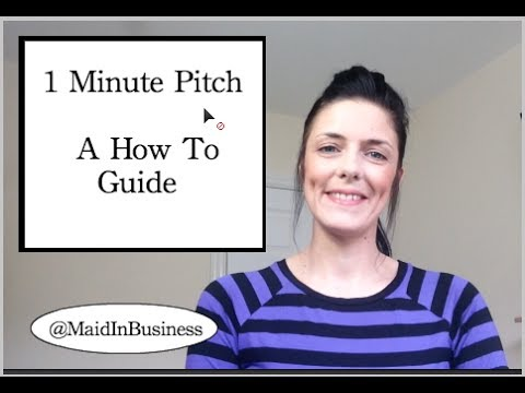 1 Minute Sales Pitch - A How To Guide