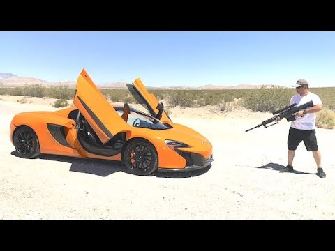 50cal through Mclaren