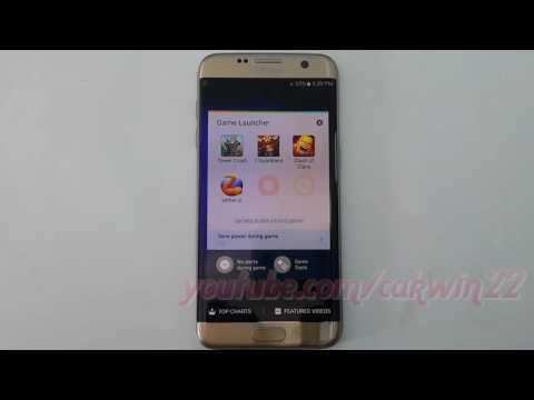 Samsung Galaxy S7 Edge : How to add or remove game in Game Launcher (Android Marshmallow)