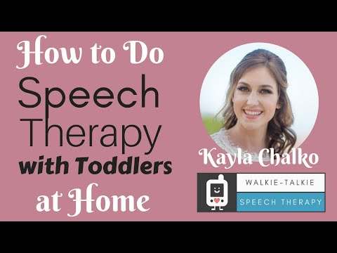 How to Do Speech Therapy with Toddlers at Home
