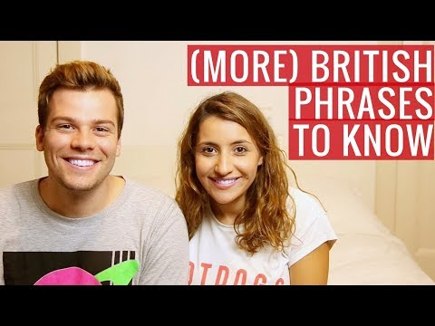 (More) Phrases to Know Before Visiting London ft. Joel & Lia