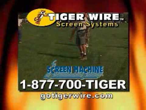 Golf Ball Proof Window Screen.wmv
