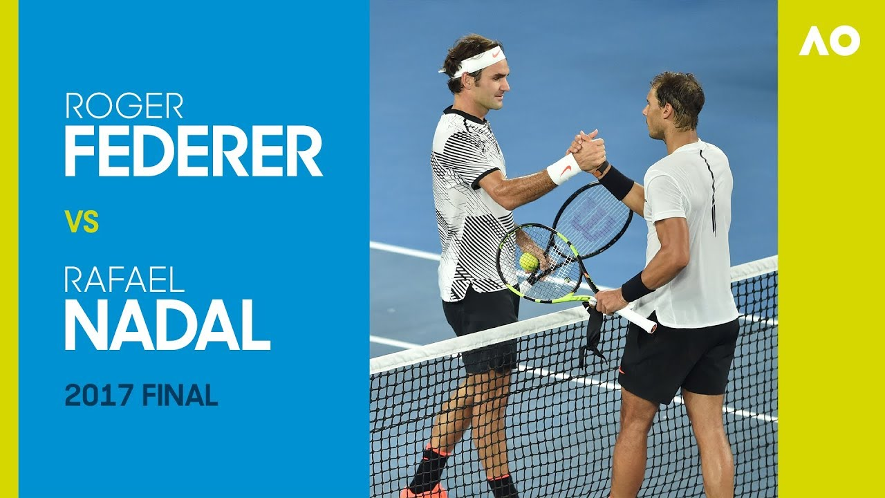 Roger Federer vs Rafael Nadal - Australian Open 2017 Final   AO Classics