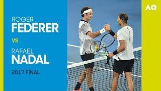 Roger Federer v Rafael Nadal - Australian Open 2017 Final | AO Classics