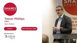 Open Orphan (ORPH) - Trevor Phillips, CEO