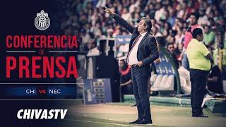 EN VIVO: Conferencia de prensa | Tomás Boy | Prepartido | Chivas vs. Necaxa