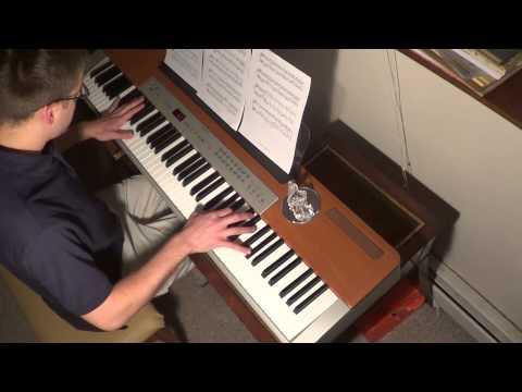Skyrim - The Streets of Whiterun Piano Cover