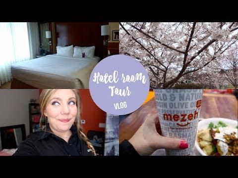 Hotel Room Tour | Flight Attendant Vlog