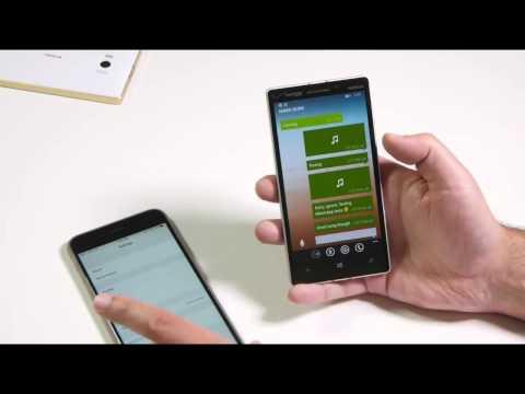 WhatsApp calling and Send audio on Windows Phone