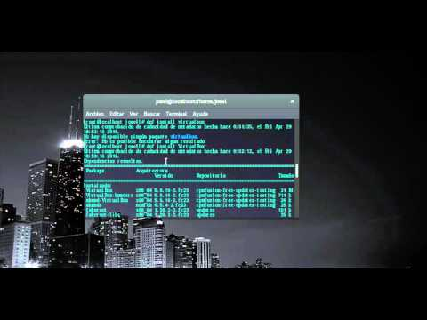 instalar virtualbox 5 en Fedora