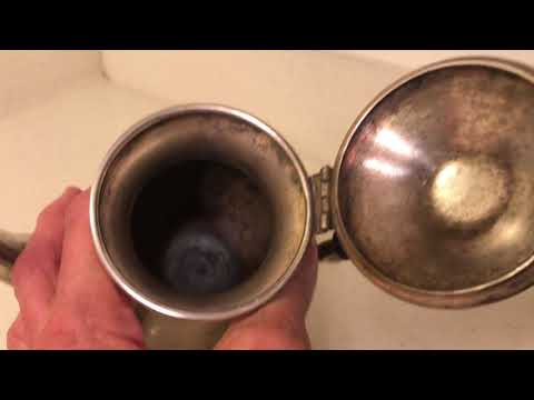 Results of Cleaning Grimy Teapot
