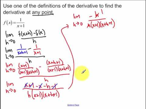 3.1 - Definition of the Derivative (2017)