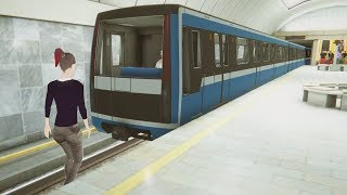 Download Became a Subway Driver, Got Fired for Crashing - Subway Simulator Video