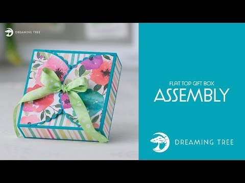 SVG File - Flat Top Gift Box  - Assembly Tutorial