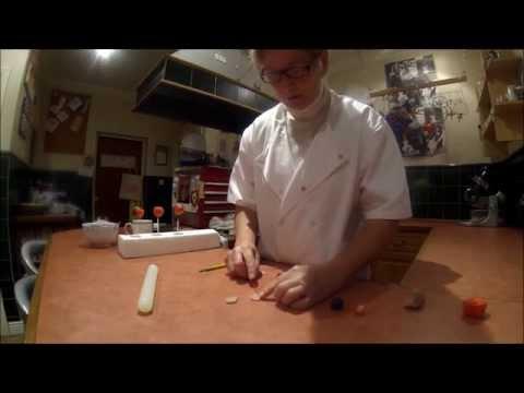 Easy How To Make Christmas Robin Cake Pops