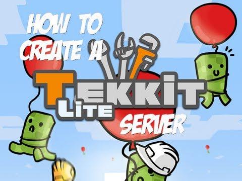 How To Run A Tekkit Lite Server (Mac & PC) (No Himachi)