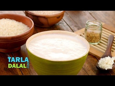 How to Make a Perfect Dosa Batter/ Basic South indian Batter Recipe for Idli and Dosa by Tarla Dalal
