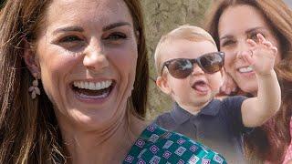 Prinz Louis - Süßeste Szene! Luftkuss für Cousin Archie