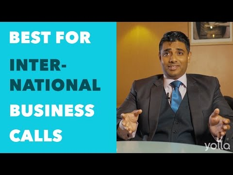 Best App for International Business Calls